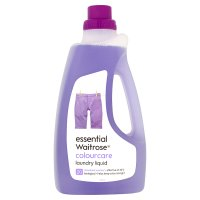 essential Waitrose colourcare liquid biological, 20 washes