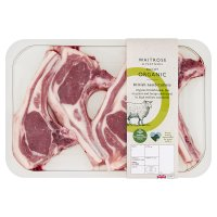 Duchy Originals from Waitrose 4 organic Welsh lamb cutlets