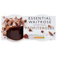 Waitrose profiteroles