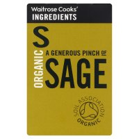 Waitrose Cooks' Ingredients organic sage