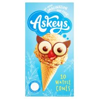 Askey's Continental Style Waffle Cones