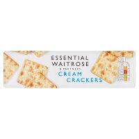 essential Waitrose cream crackers