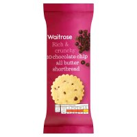 Waitrose Scottish chocolate chip shortbread