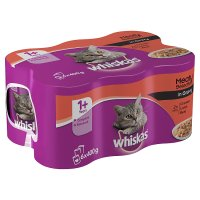 Whiskas mixed selection in gravy canned cat food