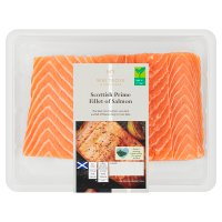 Waitrose boneless Scottish salmon fillets