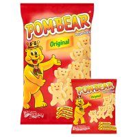 Pom-bear original potato snack