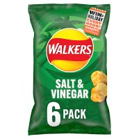 Walkers salt & vinegar multipack crisps