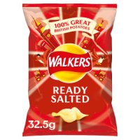 Walkers ready salted single crisps