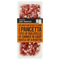 Waitrose Cooks' Ingredients Italian diced pancetta