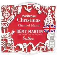 Waitrose Channel Island Remy Martin brandy butter