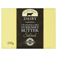 Fresh Guernsey butter salted