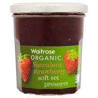Waitrose Continental organic strawberry conserve