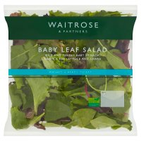 Waitrose babyleaf salad