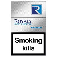 Rothmans Royals king size blue cigarettes