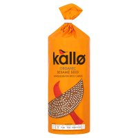 Kallo Fairtrade organic sesame rice cakes