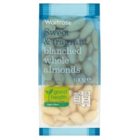 Waitrose blanched whole almonds