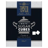 Tate & Lyle white cubes