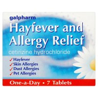 Hayfever & allergy Cetirizine tablets
