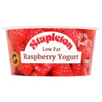 Stapleton raspberry low fat yogurt