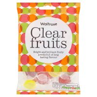 Waitrose clear fruits