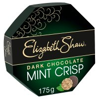 Elizabeth Shaw dark chocolate mint crisp