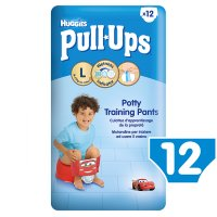 Huggies Pull Ups Potty Training Pants, Boy, Large 16-23kg