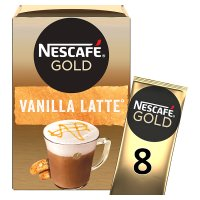 Nescafé Café Menu latte vanilla coffee