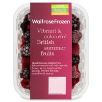 Waitrose British frozen summer fruits
