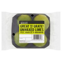 essential Waitrose unwaxed limes