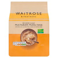 Waitrose LOVE life muesli base