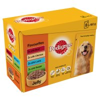 Pedigree small dog pouch selection favourites in jelly