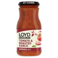Loyd Grossman tomato & roasted garlic sauce