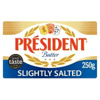 President French slightly salted butter