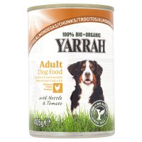 Yarrah organic dog food chicken chunks