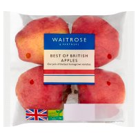 Waitrose Best of British Apples traypack