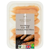 Waitrose Free Range British chicken mini fillets
