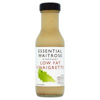 essential Waitrose low fat vinaigrette