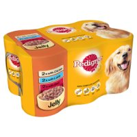 Pedigree variety pack in jelly