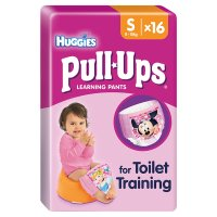 Huggies Pull Ups Potty Training Pants, Girl, Small 8-15kg