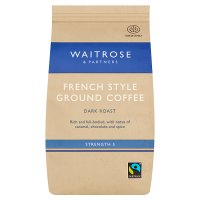 Waitrose cafetière French coffee continental blend
