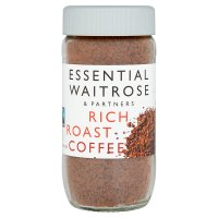 essential Waitrose rich roast coffee