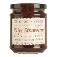 Wooden Spoon Wye strawberry extra jam