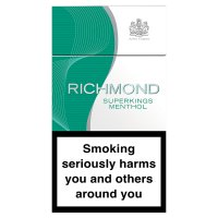 Richmond Superkings menthol cigarettes