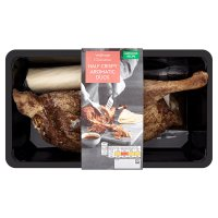 Waitrose half aromatic crispy duck