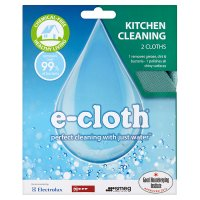 E-cloth kitchen cleaning 2 cloths