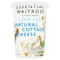 essential Waitrose natural cottage cheese 1.5%