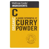 Waitrose Cooks' Ingredients organic curry powder