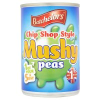 Batchelors chip shop style mushy peas