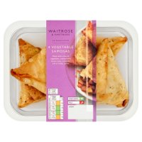Waitrose vegetable samosas