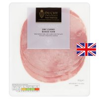 Duchy Originals from Waitrose organic dry cured baked ham, 3 slices